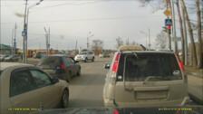 Хамло на светофоре не пройдет!