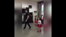Девочки с папой