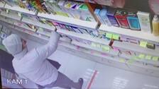 Воровство в магазине корейской косметики. Долинск