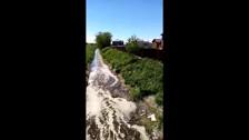 Навозная река в Новотроицком