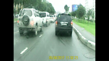 Осторожно !!! Хамы на дороге. Ю-Сах.