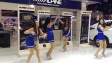 Танцы не презентации компании Alpine