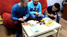 The Офис - обзор доставок роллов Сахалин