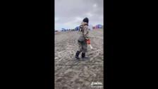 Лов горбуши сачком в Море Легально и бесплатно