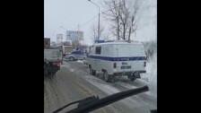На Холмском шоссе в Южно-Сахалинске произошло ДТП
