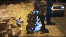 Находчивый сахалинец после задержания ГИБДД разобрал мопед на запчасти
