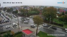 Два глупых ДТП произошли в одно время на перекрестке в Южно-Сахалинске 2