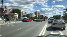 Три столкнувшихся авто затруднили проезд на перекрестке в Южно-Сахалинске