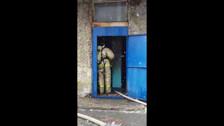 В доме по улице Крузенштерна в Холмске загорелся электрощиток - 2