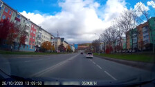 ДТП на ул. Пуркаева 26.10.2020