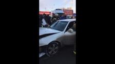 Toyota Crown врезалась в магазин №2
