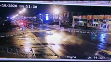 В ночном ДТП на проспекте Мира погиб человек. Момент