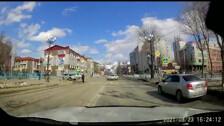 Зеленый свет не помешал водителю в Южно-Сахалинске наехать на пешехода