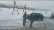 В Углегорском районе «Нива» и грузовик попали в ДТП